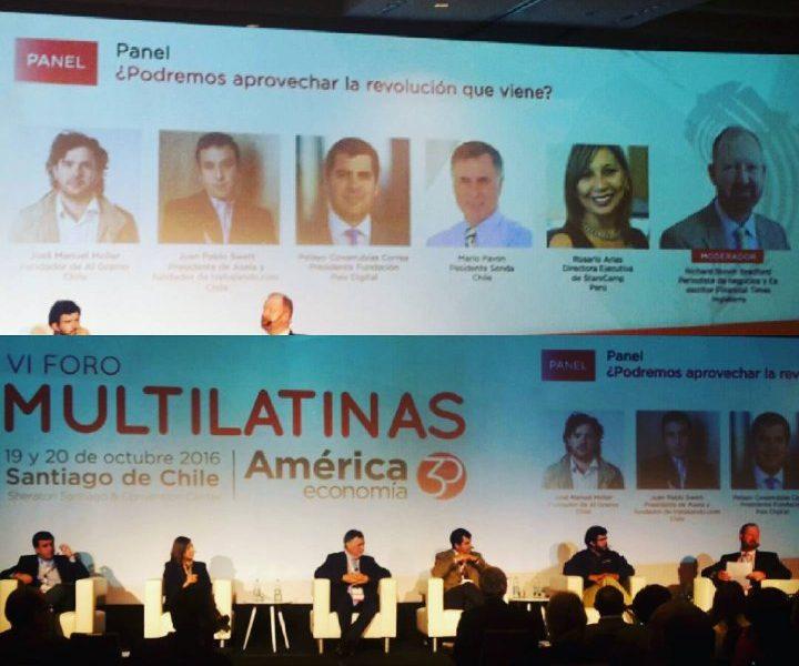Fundación País Digital participa en VI Foro Multilatinas de América Economía