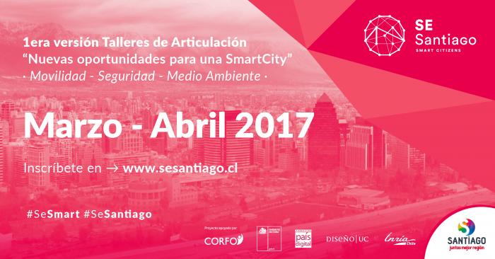 Fundación País Digital, Pontificia Universidad Católica de Chile, Inria Chile y Corfo desarrollan talleres de Articulación de nuevas oportunidades para una Smart City