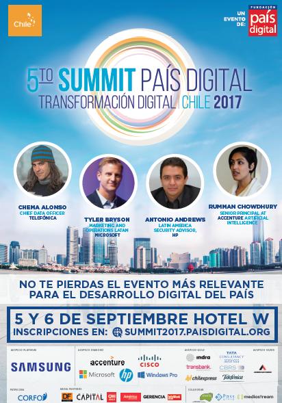 Expertos debatirán sobre las claves para la Transformación Digital en Chile