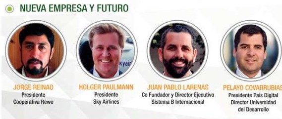 Presidente de Fundación País Digital expuso en #Enela2018 en panel «Nueva empresa y futuro»