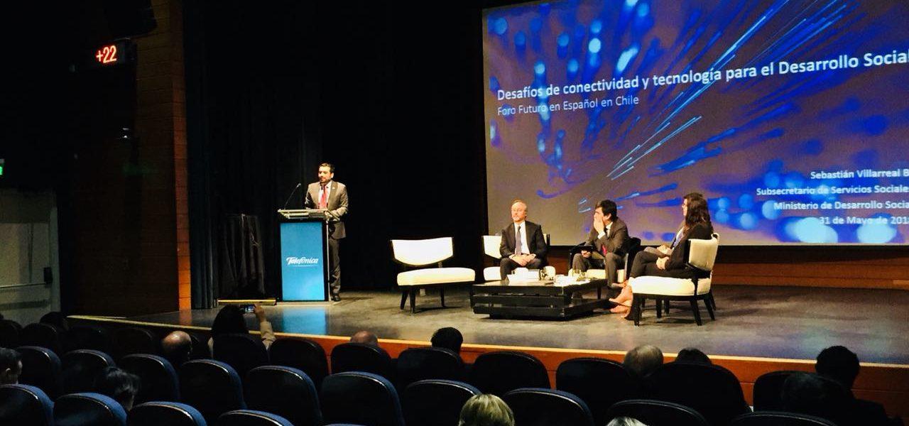 Presidente de País Digital participa en segunda jornada del III Foro «Futuro en Español» en Chile