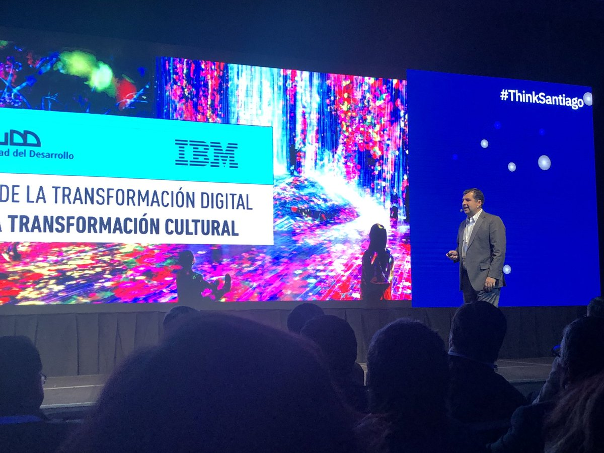 «La transformación digital, no es digital, es cultural» Pelayo Covarrubias en Think Santiago de IBM