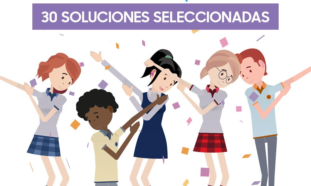Concurso de tecnología para escolares selecciona a 30 proyectos que buscan solucionar problemáticas comunitarias