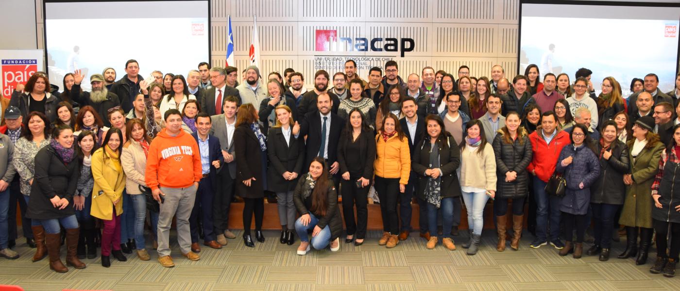 Taller de adopción tecnológica para Pymes cierra su ruta en Talca con participación de 120 emprendedores